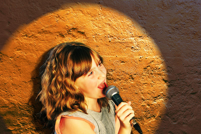 In Spotlight stock image