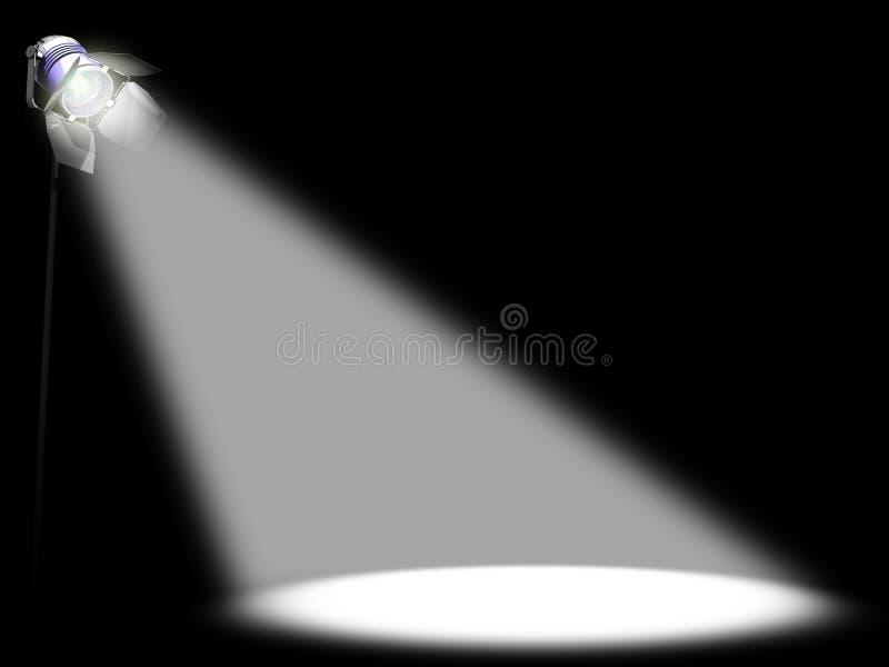 Spotlight vector illustration