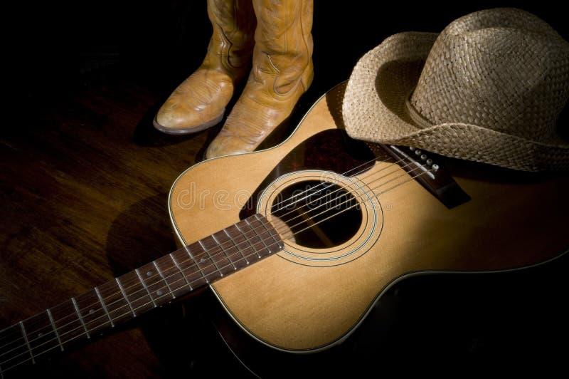 Country Music Spotlight stock photo
