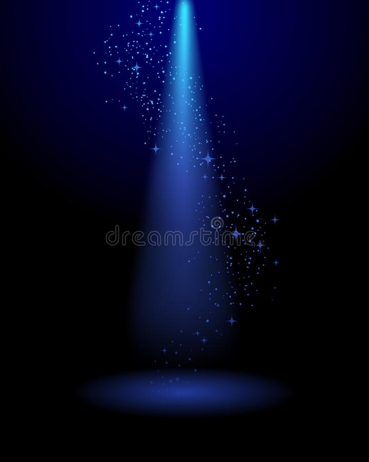 Free Spotlight Stage Background Stock Images - 35882924
