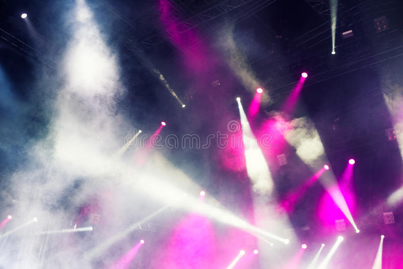 spotlights foto de stock