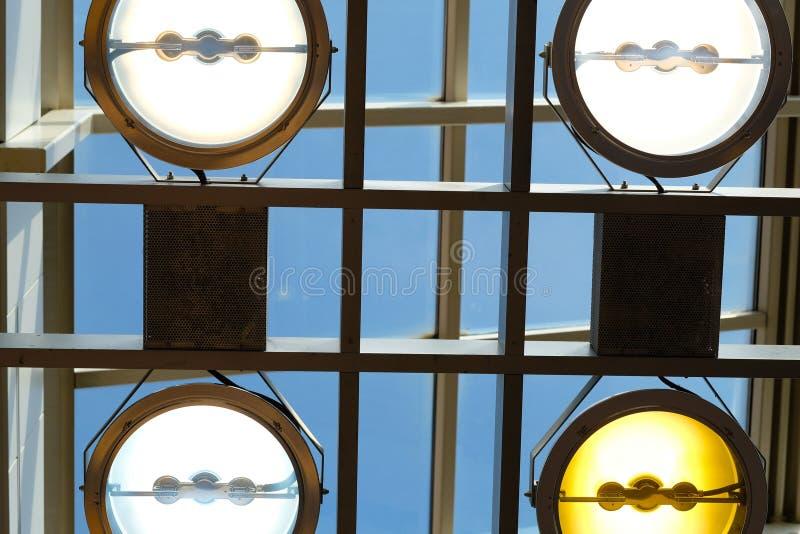 spotlights fotografia de stock royalty free
