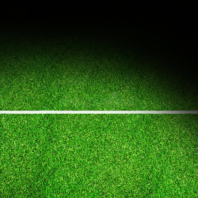 Spotlit Sport Field Background With Copy Space stock photos