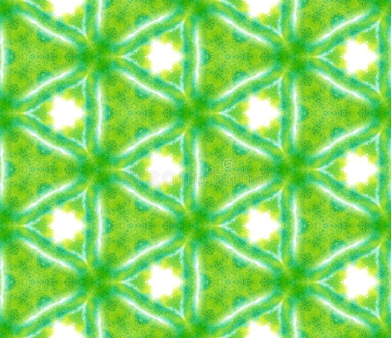 Spots, Ikat, Tie Dye, Batik Seamless Pattern. vector illustration