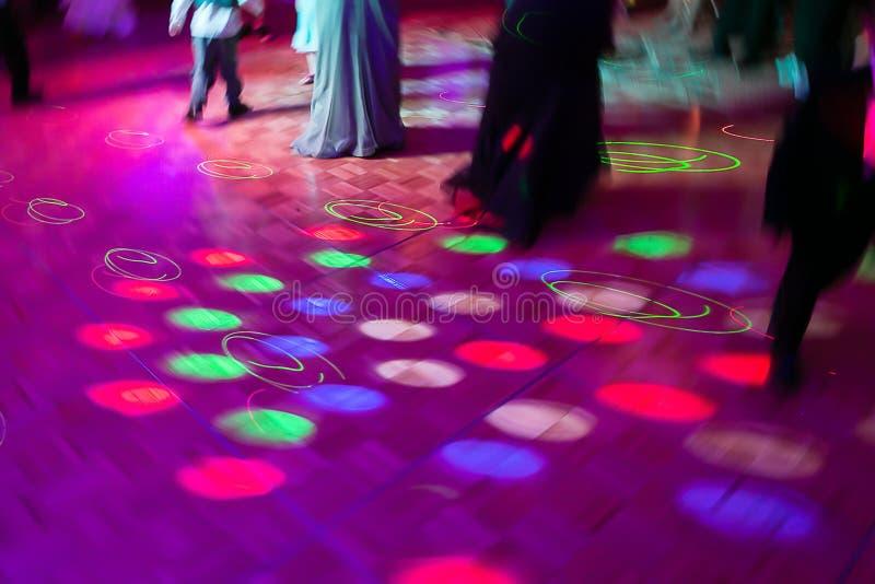 Dance Floor stock image