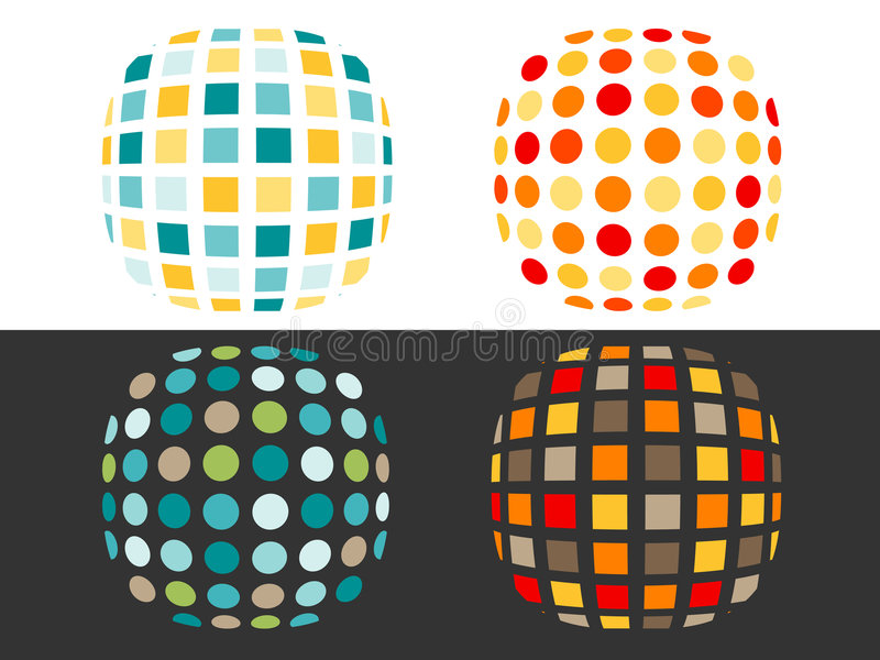 Download Spots And Squares Royalty Free Stock Images - Image: 3667179
