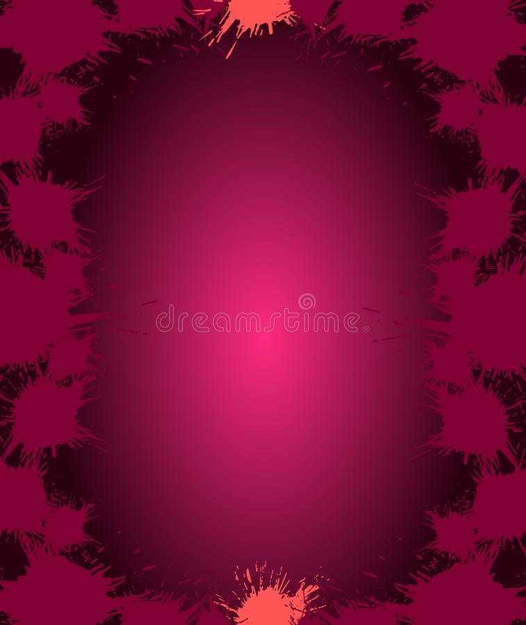 Download Spots on violet background stock illustration. Image of pack - 21788049