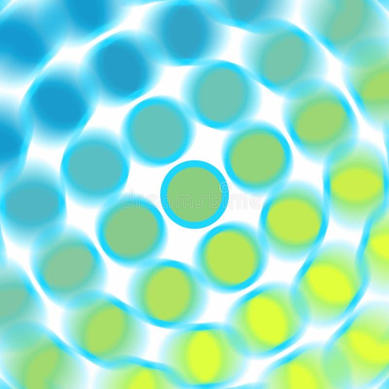 Spots on white vector illustration