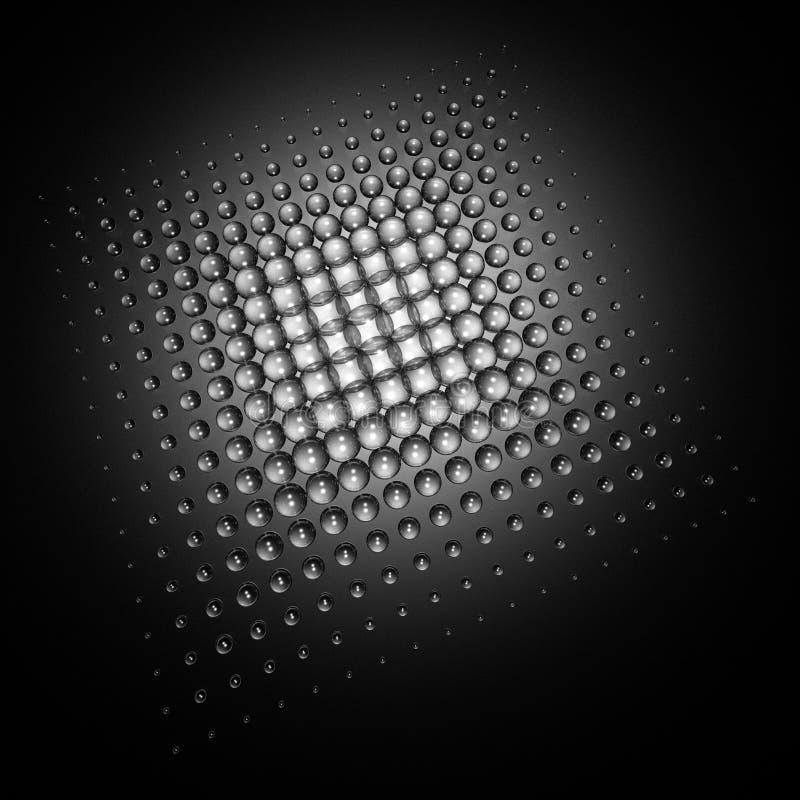 Spotted background vector illustration