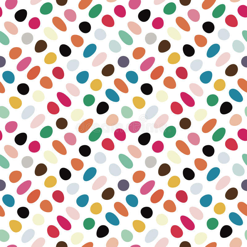 Spotted pattern vector illustration