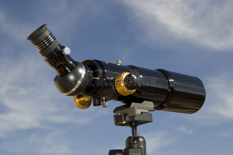Beach voyeur spotting scope