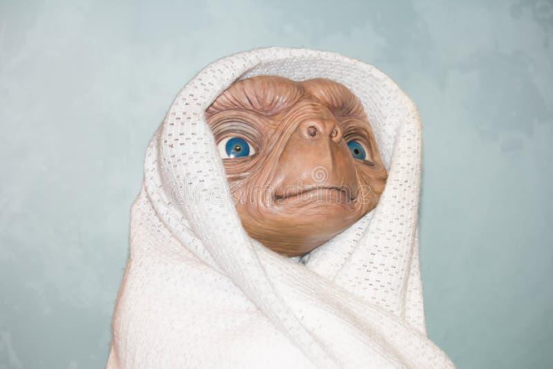 Spotykać ET fotografia royalty free