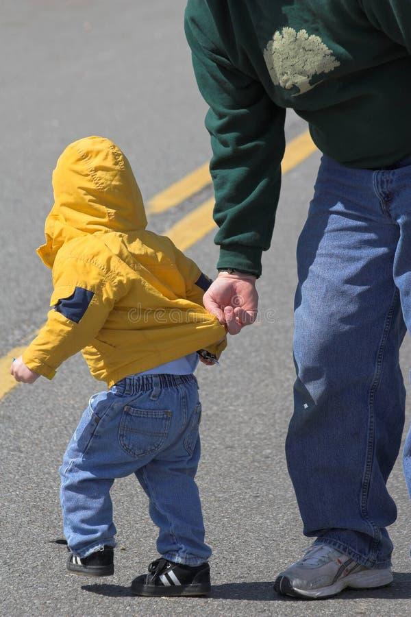 spróbować ucieczki dziecka zdjęcie royalty free