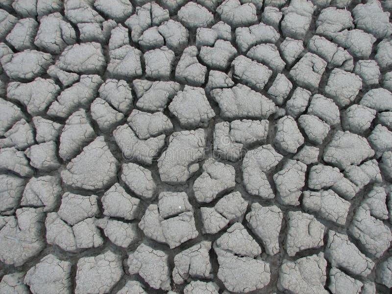 Sprünge im Boden stockbild