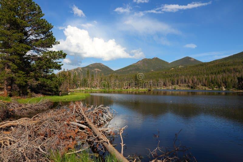 Sprague jezioro obraz stock