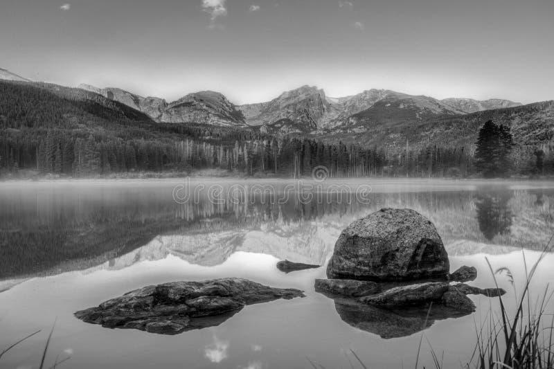 Sprague Lake fotografering för bildbyråer