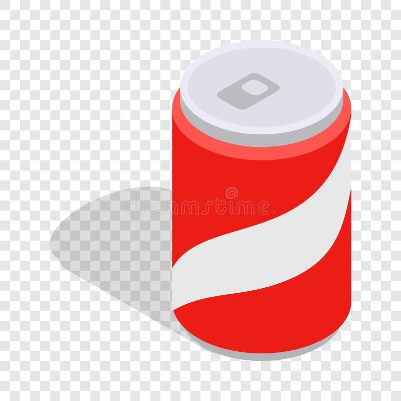 Sprankelend drank isometrisch pictogram vector illustratie