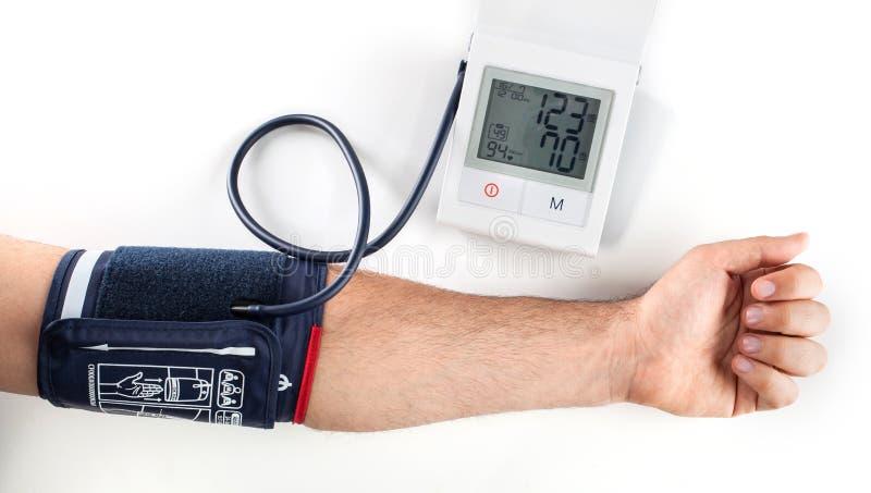 sprawdź ciśnienie krwi obrazy stock