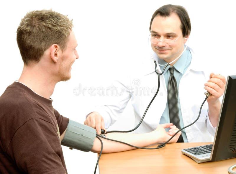Sprawdź Ciśnienie Krwi Zdjęcie Stock