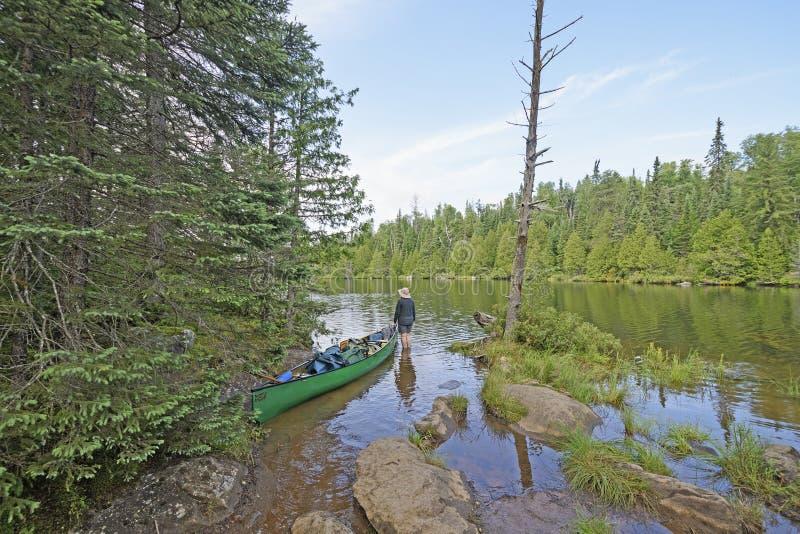 Sprawdzać out Następnego jezioro zdjęcia stock