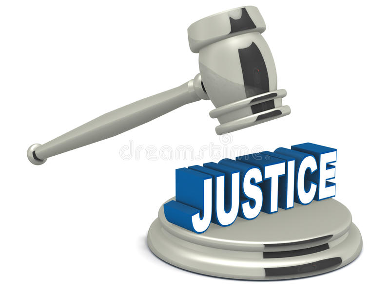 Sprawiedliwość ilustracja wektor