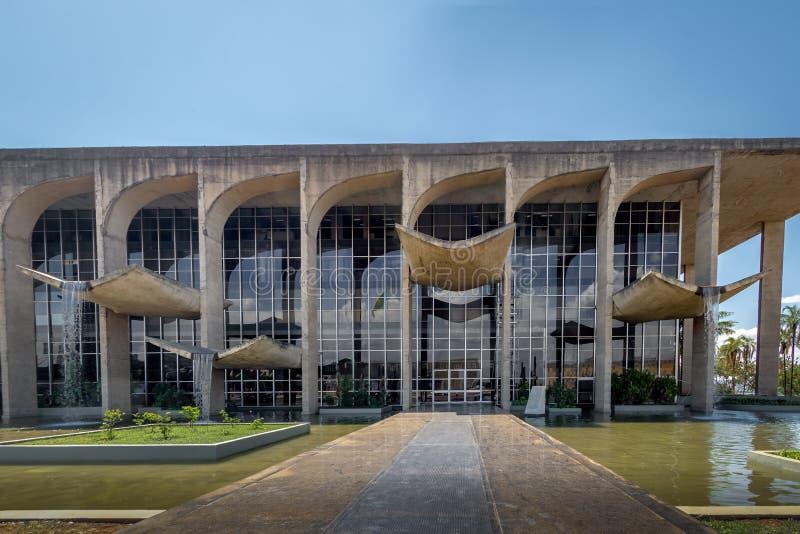 Sprawiedliwość pałac - Brasilia, Distrito Federacyjny, Brazylia obrazy royalty free