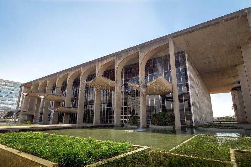 Sprawiedliwość pałac - Brasilia, Distrito Federacyjny, Brazylia zdjęcie stock