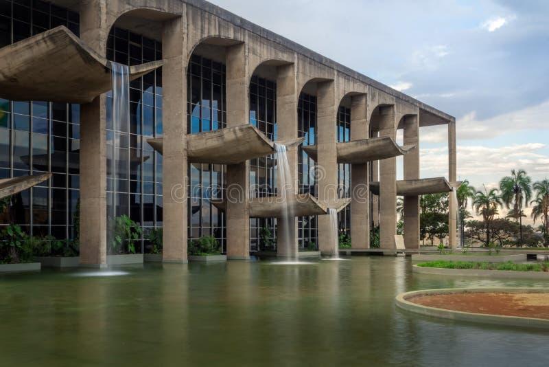 Sprawiedliwość pałac - Brasilia, Distrito Federacyjny, Brazylia fotografia royalty free