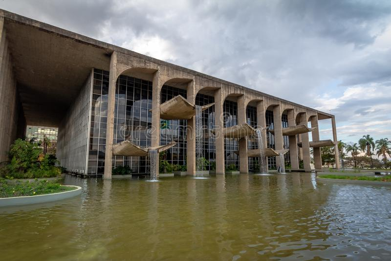 Sprawiedliwość pałac - Brasilia, Distrito Federacyjny, Brazylia zdjęcia royalty free
