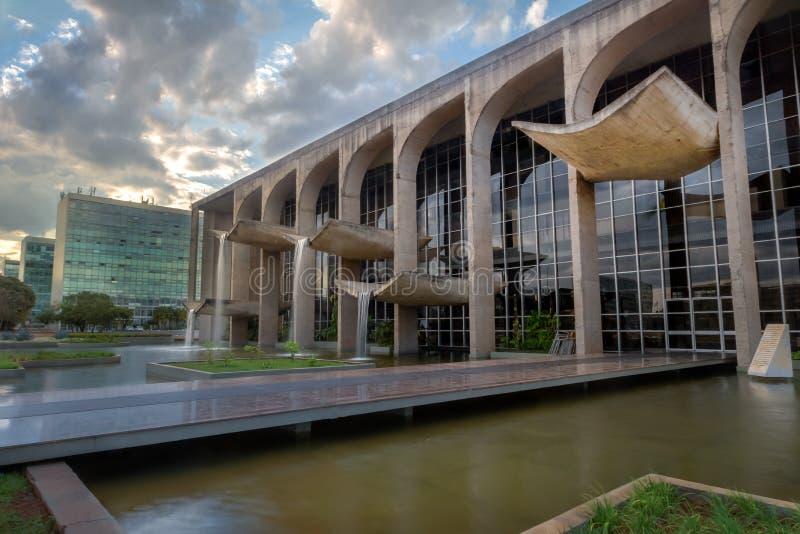 Sprawiedliwość pałac - Brasilia, Distrito Federacyjny, Brazylia zdjęcie royalty free