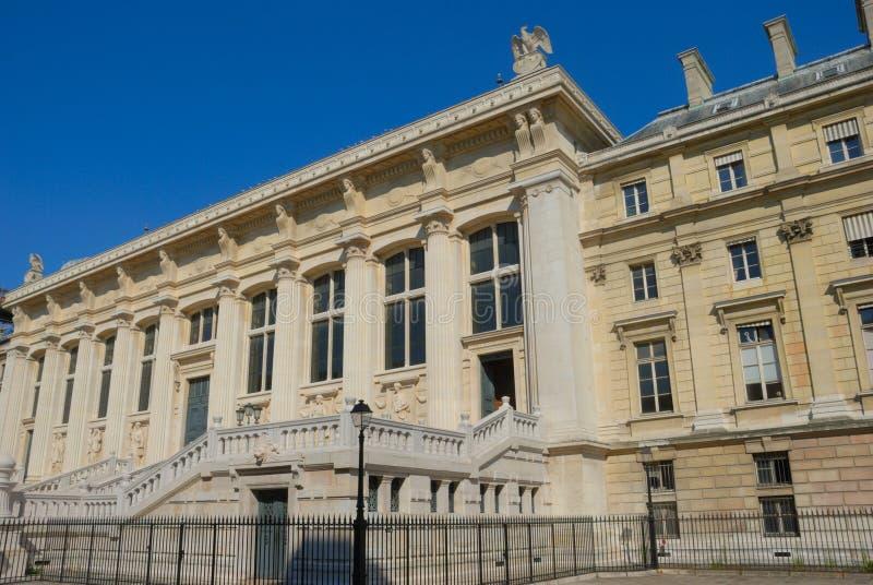 Sprawiedliwość palais de Paris fotografia royalty free