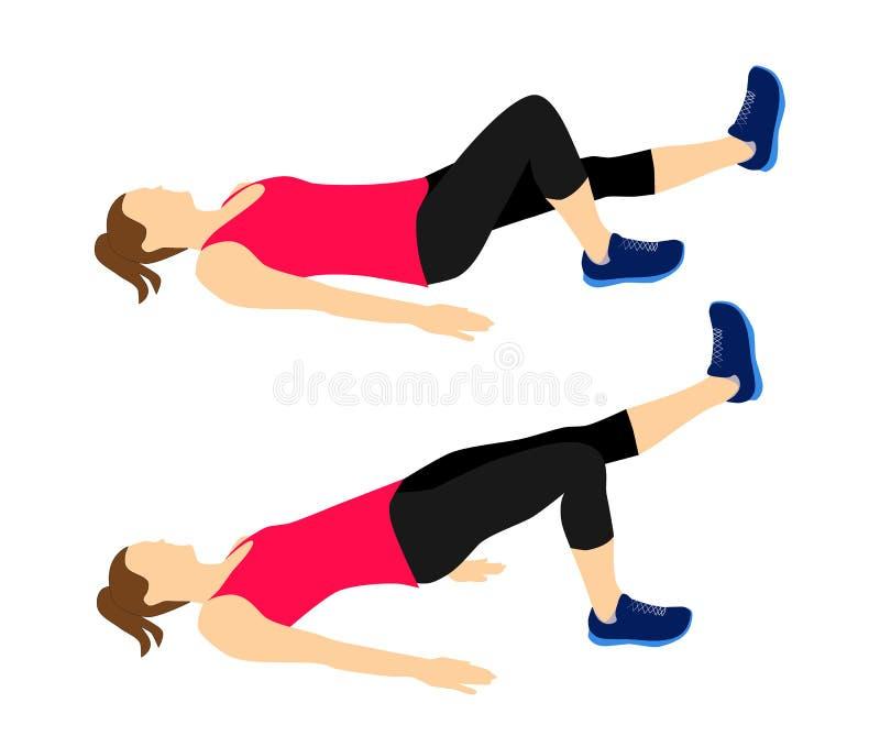 Sprawność fizyczna ćwiczy motywację ilustracji