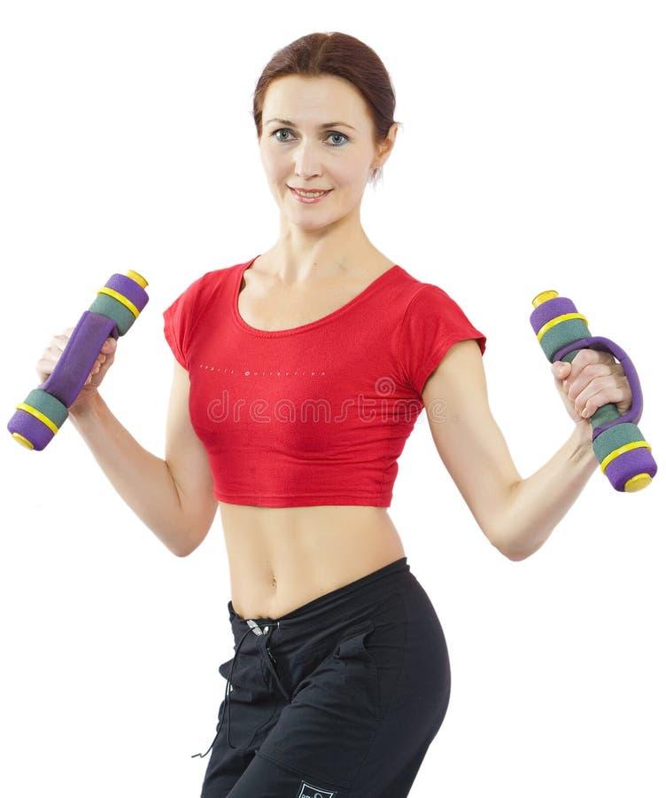 sprawność fizyczna bawi się kobiety obraz stock