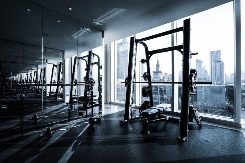 Sprawność fizyczna klubu wnętrze zdjęcia stock
