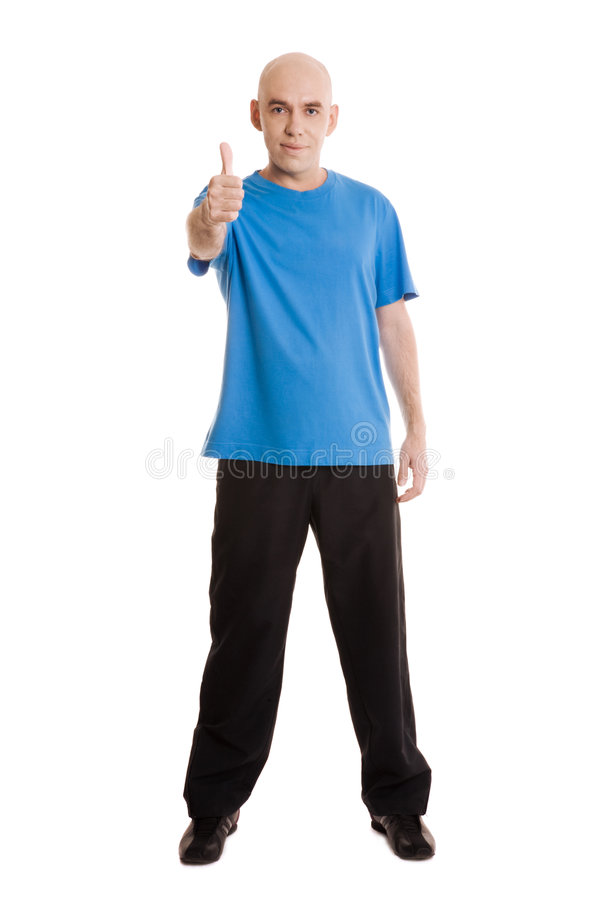 sprawność fizyczna mężczyzna zdjęcia stock