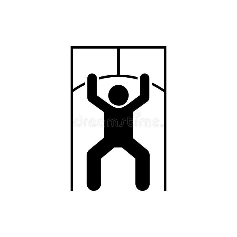 Sprawność fizyczna, szkolenie, mężczyzna, sport, gym ikona Element gym piktogram Premii ilo?ci graficznego projekta ikona podpisz ilustracji