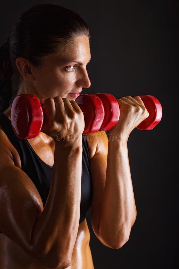 Sprawność fizyczna Trening obraz stock