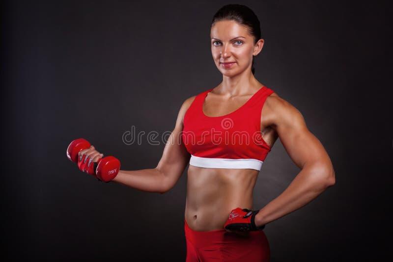 Sprawność fizyczna Trening zdjęcie stock