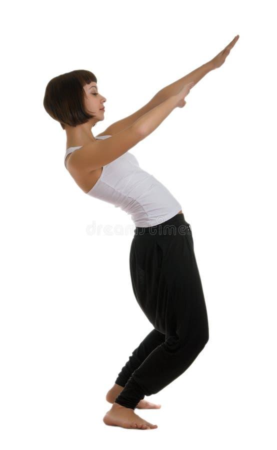 sprawności fizycznej angażująca dziewczyna zdjęcia royalty free