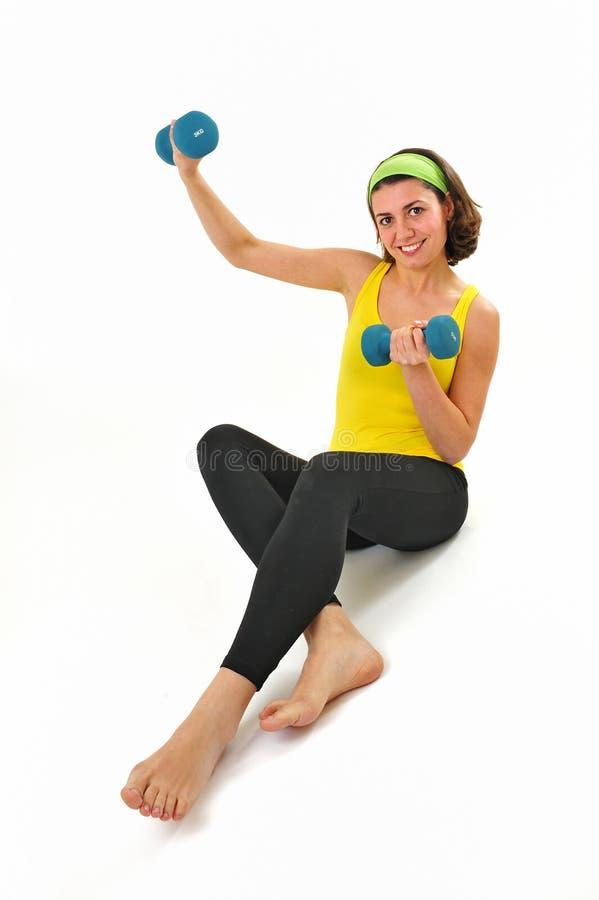 sprawności fizycznej dziewczyna zdjęcia stock