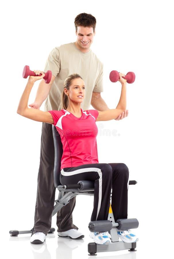 sprawności fizycznej gym obrazy stock