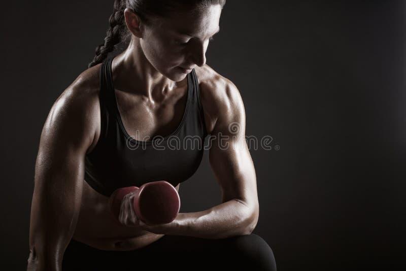 Sprawności fizycznej kobieta obraz stock
