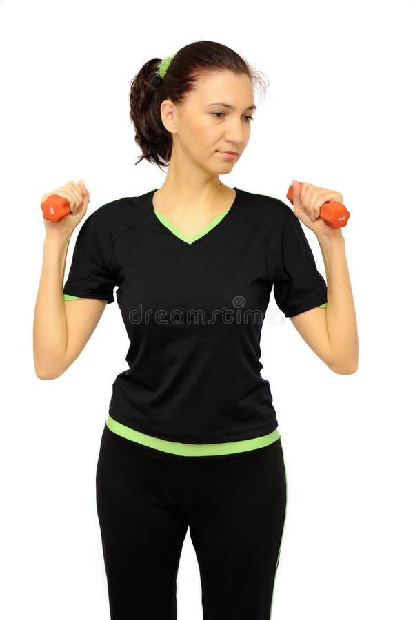sprawności fizycznej kobieta obrazy stock