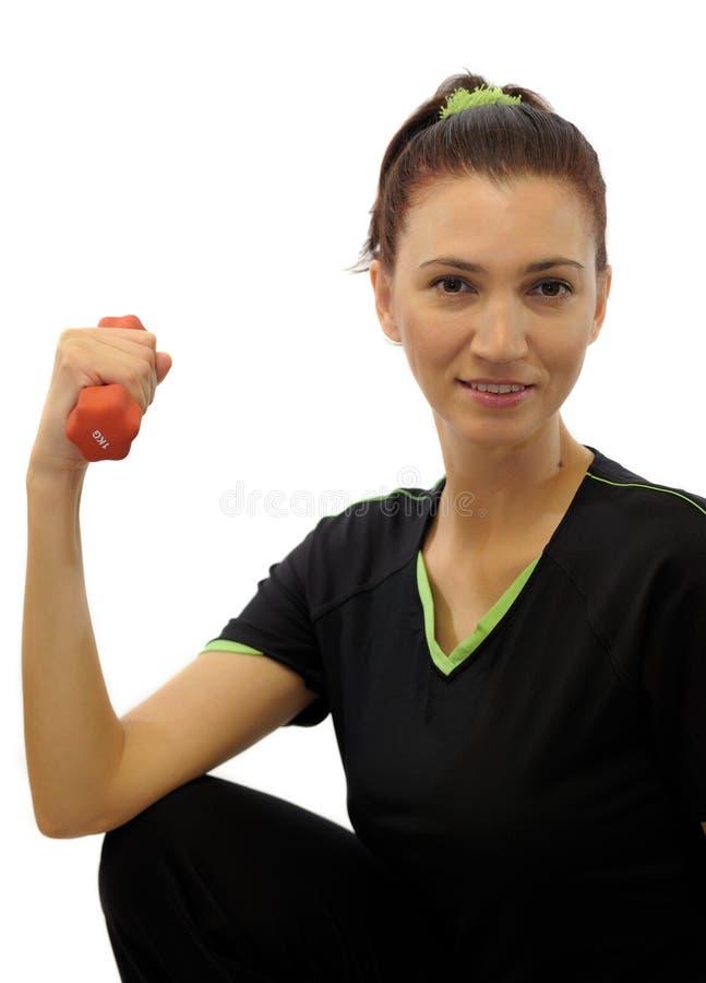 sprawności fizycznej kobieta obrazy royalty free