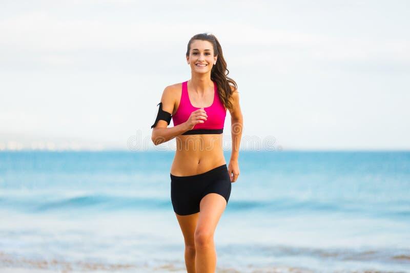 Sprawności fizycznej kobiety bieg zdjęcia royalty free