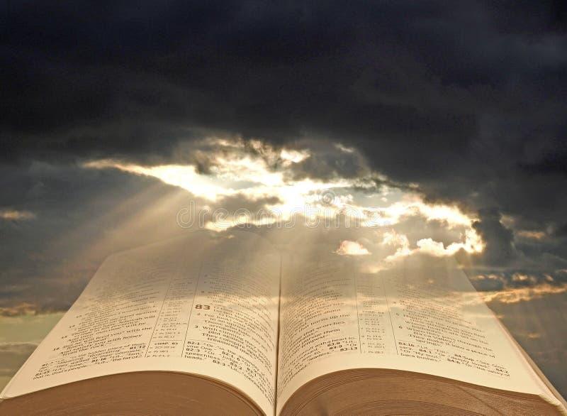 Sprawy duchowe światło ludzkość obraz stock