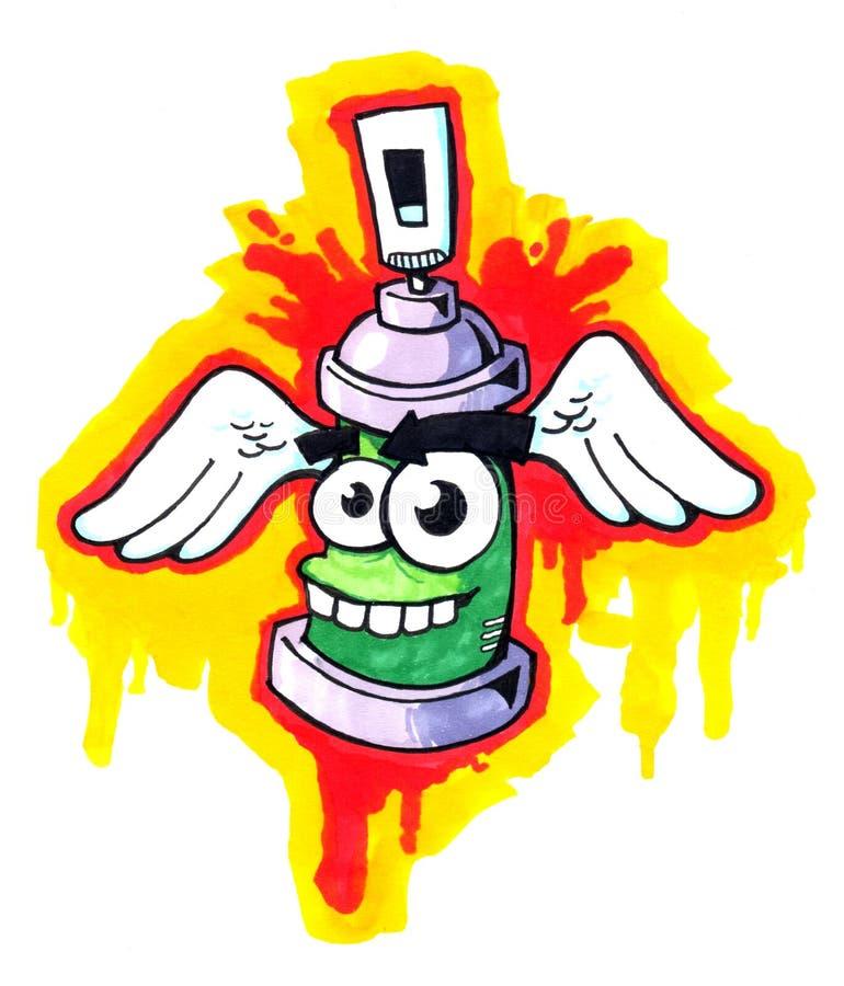 spray 02 stock illustrationer