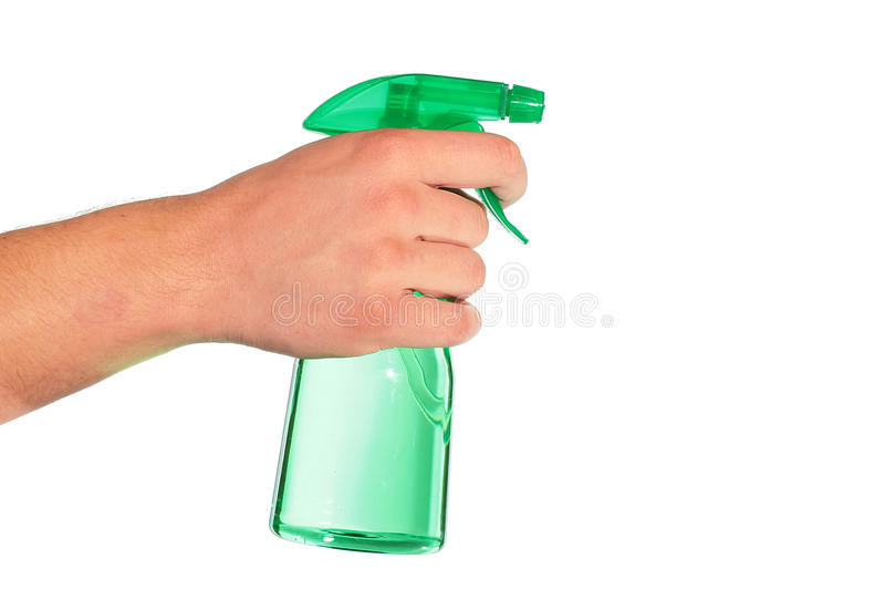 Download Spray stock image. Image of green, plastic, cleaning - 14254233