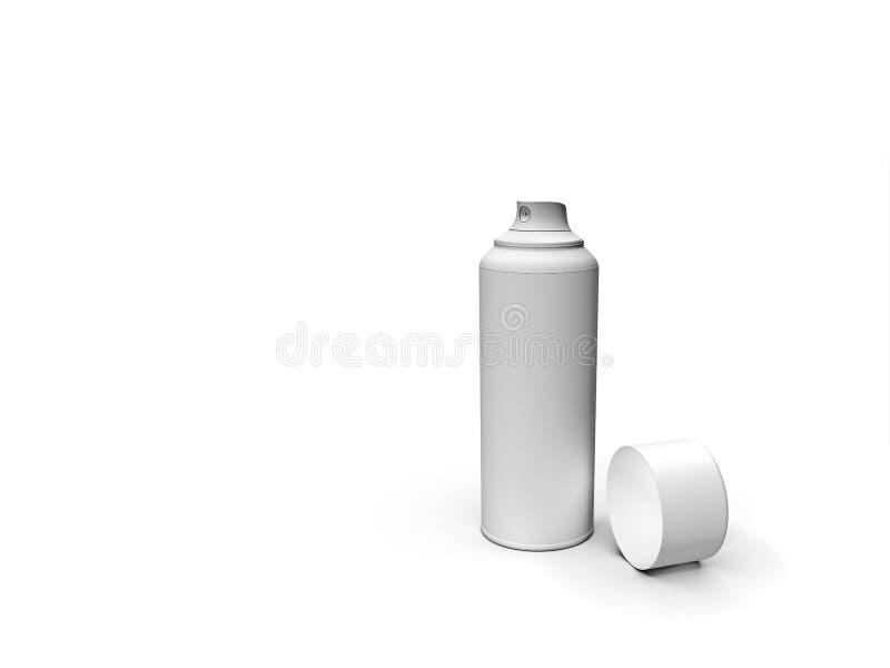 spray vektor illustrationer