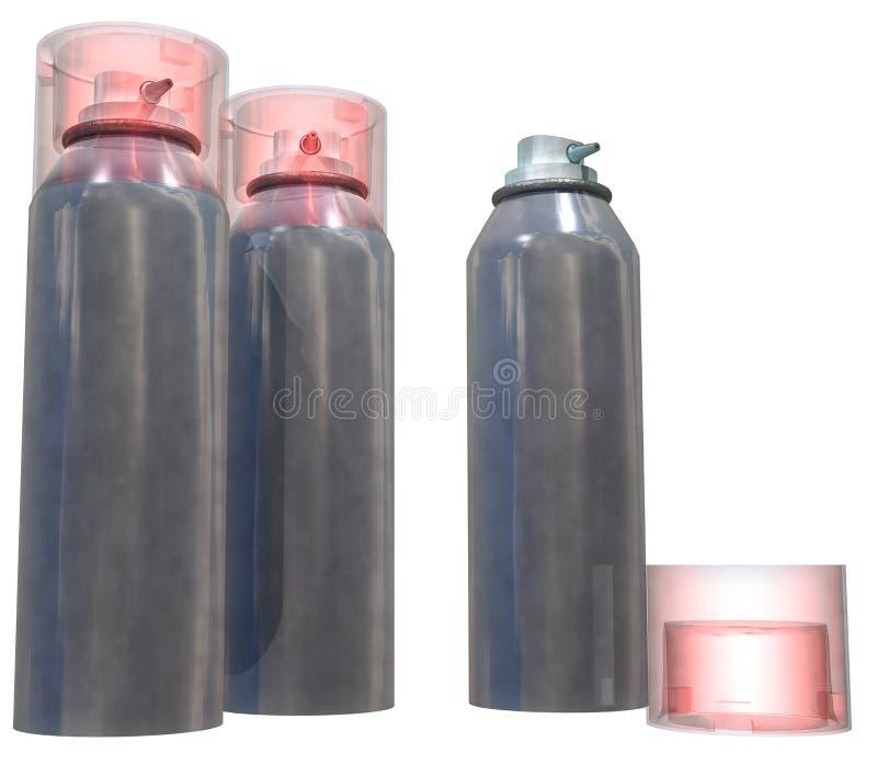 spray stock illustrationer